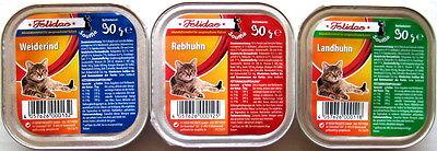 Felidae Katzenfutter Souffle Adult 3 Sorten 100 x 90g *1,72 € pro kg*
