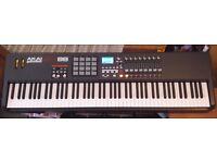 AKAI MPK88 USB/MIDI Hammer-Action Controller Keyboard