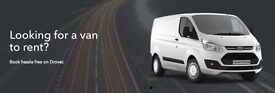 Vans for weekly rent/hire starting at just £182/week incl. insurance