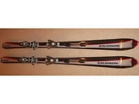 Salomon Superaxe 8 - 175cms, Salomon Bindings, New Condition!