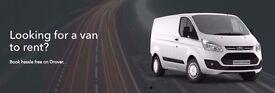 VAN HIRE/RENTAL - SELF-DRIVE - WEEKLY RENTAL AVAILABLE