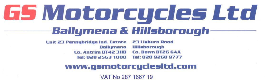 GS Motorcycles Ltd Northern Ireland