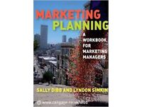 Marketing Planning Book by Sally Dibb & Lyndon Simkin