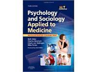 Psychology and sociology applied to medicine - third edition. Alder, Abraham, Teijlingen and Porter