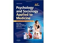 Psychology and sociology applied to medicine - third edition. Alder, Abraham, Teijlingen and Porter.