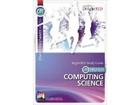 Bright Red Study Guides for Higher Computing Science and Physics