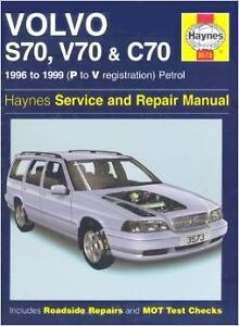 Haynes 1996-1999 Volvo S70 V70 C70 Auto Repair & Service Manual