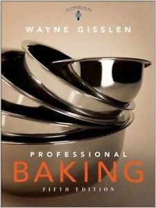 Professional Baking Hardcover 5th Edition