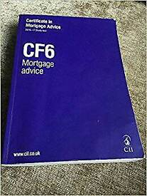 CII RO1 and CF6 Certificate in Mortgage Advice
