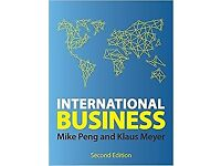 International Business - Mike Peng and Klaus Meyer - Second Edition