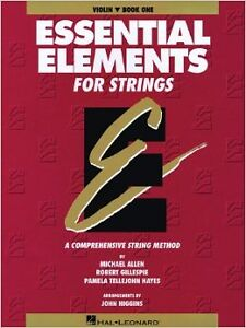 Essential Elements for Strings, Book One