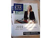 CFA Schweser all books level 3