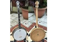Clifford Essex Paragon Tenor banjo