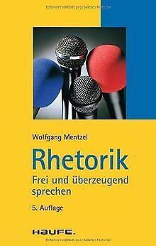 Rhetorik von Wolfgang Mentzel   Buch   Zustand sehr gut