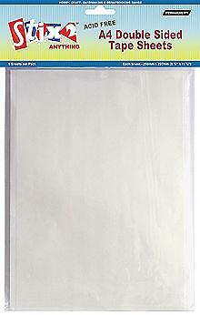 Double Sided Tape Sheets Ebay