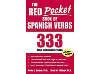 As new: The Red Pocket Book of Spanish Verbs: 333 Fully Conjugated Verbs