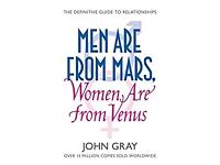Men are from Mars, Women are from Venus [JOHN GRAY]