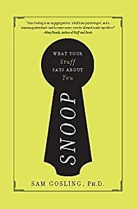 Snoop: What Your Stuff Says About You (used book)