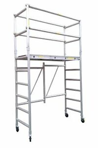Mobile Scaffold AR Fold 1 with Cage $633+GST! Hire Available