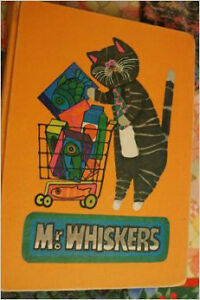 "very Rare children's book ""Mr. Whiskers""  1970 Cornwall Ontario image 1"