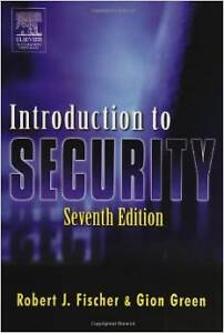 Introduction to security Sixth edition Hardcover textbook London Ontario image 1
