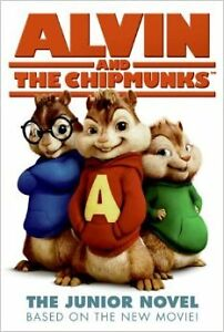 Alvin and the Chipmunks Junior Novel Book & 4 Toys (Lot #5) London Ontario image 1