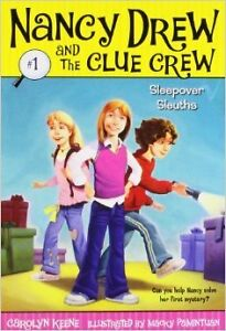 Nancy Drew and the Clue Crew Book