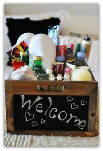 Free Welcome Basket