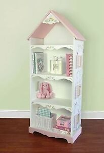 Cafe kid dollhouse bookshelf excellent condition 12dx25wx60h