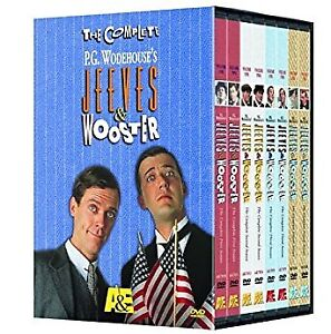 8-DVD -- The Complete Jeeves & Wooster - Seasons 1-4