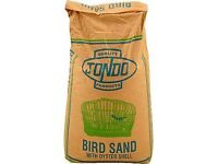 Bird sand with oyster shell - £5 a bag