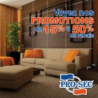 Nettoyage de meubles, carpettes et TAPIS. 15% à 50% RABAIS