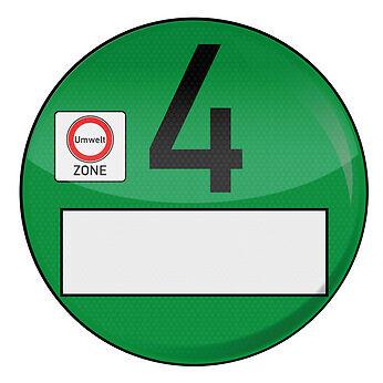 Grüne Plakette als Eintrittskarte für alle Umweltzonen – das sollten Sie über die Feinstaubplakette wissen
