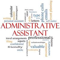 Administrative Assistant ready to work