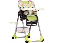 Chicco high chair lime green