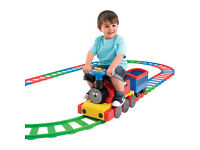 All Aboard 6V Train and Track Set