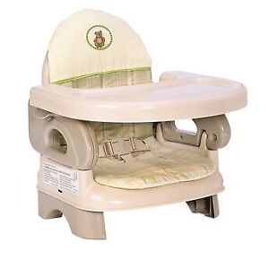 Summer Infant Deluxe Foldable Booster Seat/High Chair