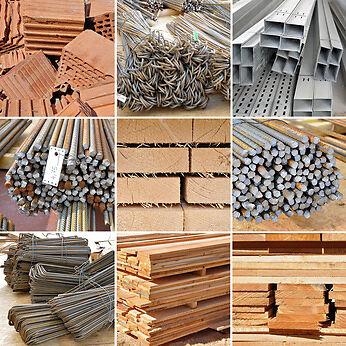 Baustoffe zum Mauern finden