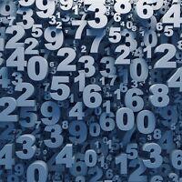 Numerology readings.
