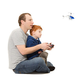 How to Operate a Radio-Control Helicopter