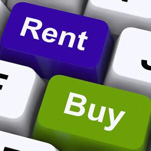 A la recherche - option d'achat 5 1/2 condo, maison a louer