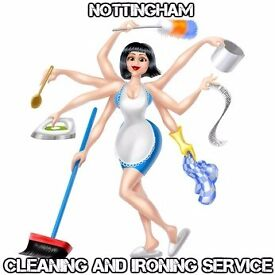 Cleaning And Ironing Service Nottingham House/Offices/Ironing Cleaning Service