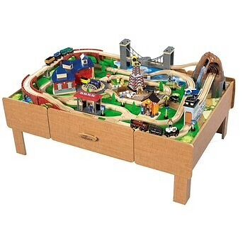 Table Top Train Set - Home Design Ideas and Pictures. Table Top Train Set Home Design Ideas And Pictures  sc 1 st  Best Image Engine & Amazing Table Top Train Set Wooden Contemporary - Best Image Engine ...