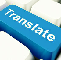 Translation English/French and French/English $0.05/word