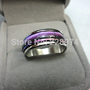 Brand new silver plated mood ring West Tamworth Tamworth City Preview