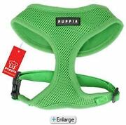 Small Dog Harness Green