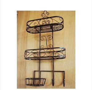 Wrought Iron Shelf Home Garden Ebay