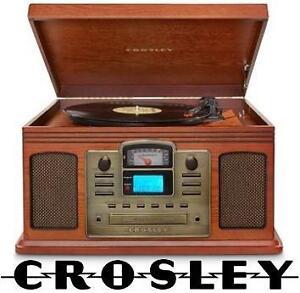 NEW CROSLEY DIRECTOR ENTNT CENTER - 119582813 - CD RECORDER  PLAYER - VINYL RECORD PLAYER - RECORD VINYL  CASSETTES T...