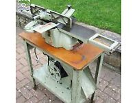 Vintage Myford Thickness Planer for restoration