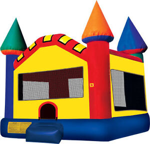 Carnival Castle Jumping Bouncy Castle Rentals Inflatables FUN!